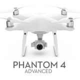 DJI PHANTOM 4 ADVANCED DRONE WITH 4K CAMERA AND CONTROLLER
