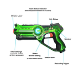 CALL OF LIFE 2 PLAYERS LASER TAG GUN WITH MASKS SET