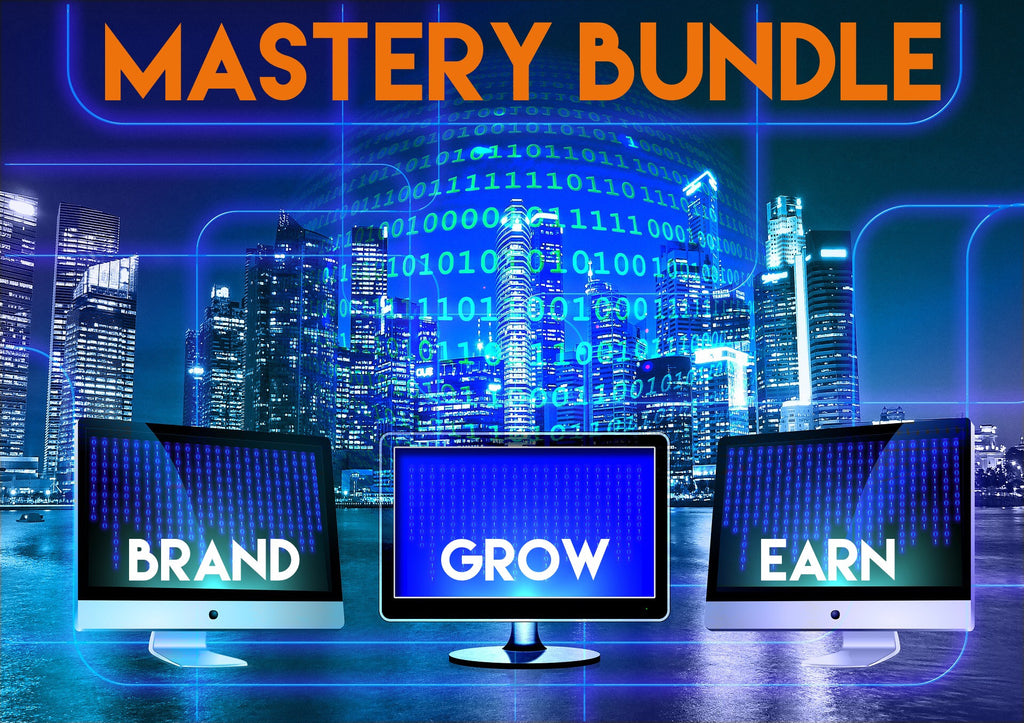 Instagram Mastery Bundle. How to brand, grow, and earn.