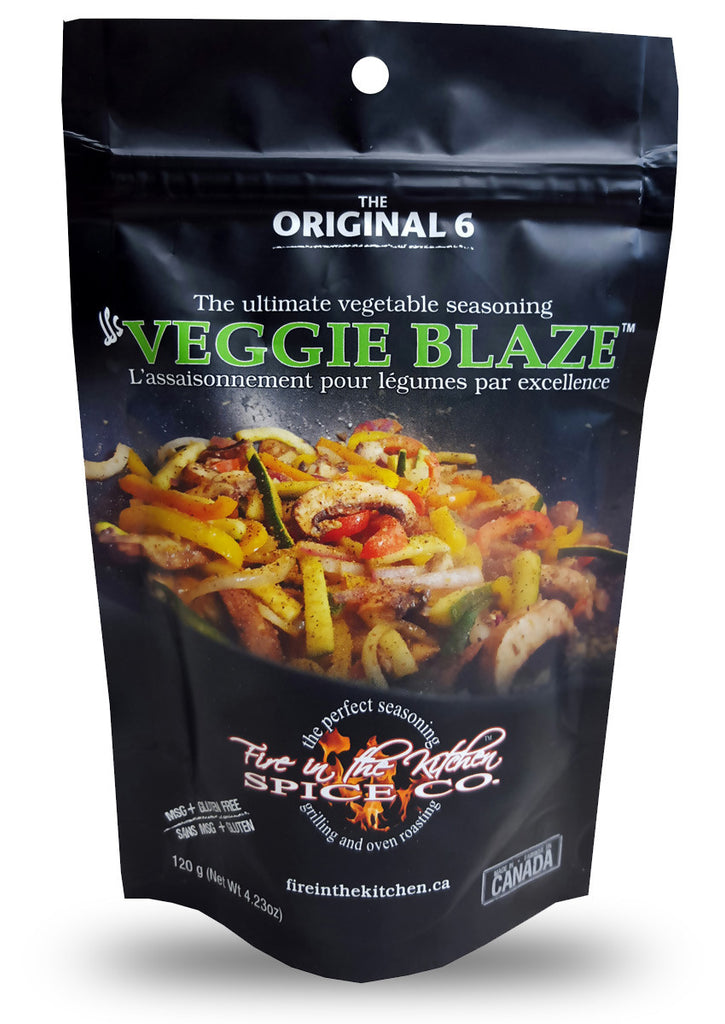 Veggie Blaze - Fire in the Kitchen