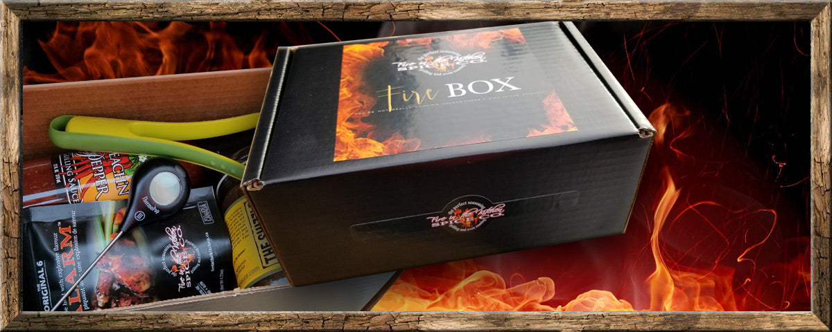Fire in the Kitchen Spice Company Fire Boxes