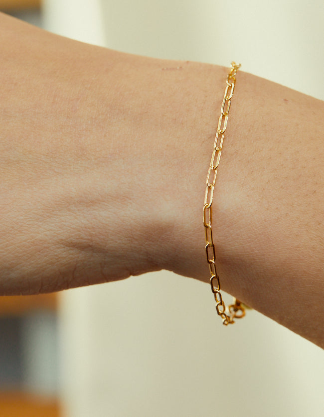 Goldfill Drawn Cable Bracelet - three lengths