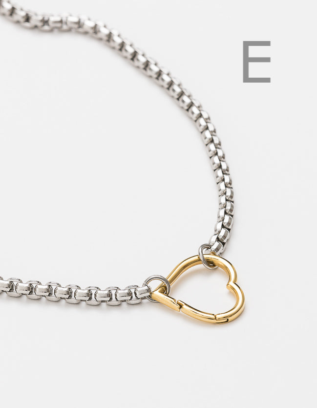 Snake Chain Silver Long/Short - add clasp