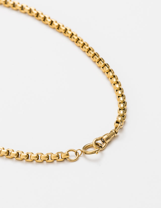 Snake Chain Gold Double Catch Long/Short