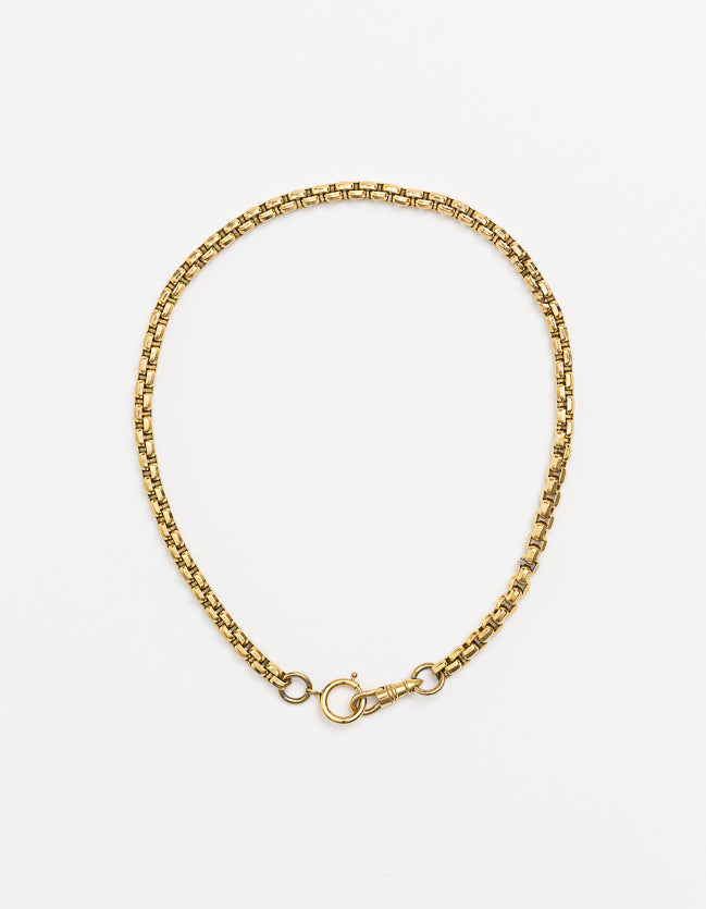 Snake Chain Gold Double Catch Long/Short PRE-ORDER