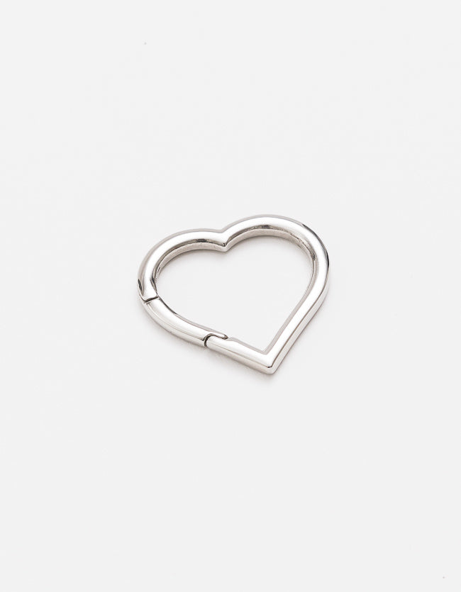 Carrier Lock Silver Heart F