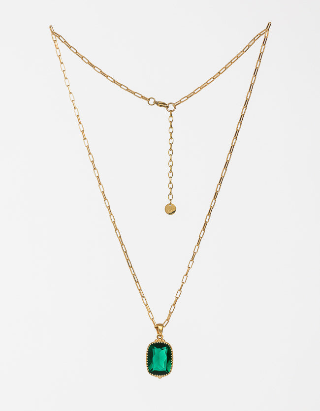 Veridian Gold Necklace