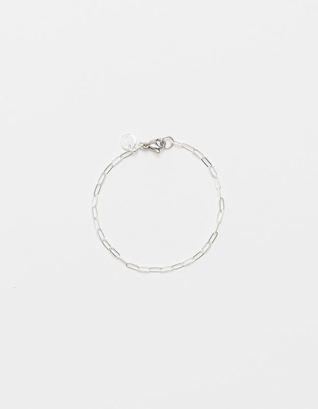 Silver Drawn Cable Bracelet - three lengths
