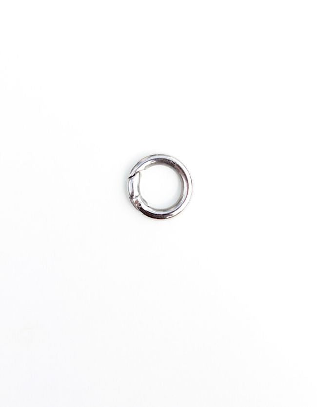 Carrier Lock Silver Ring Small