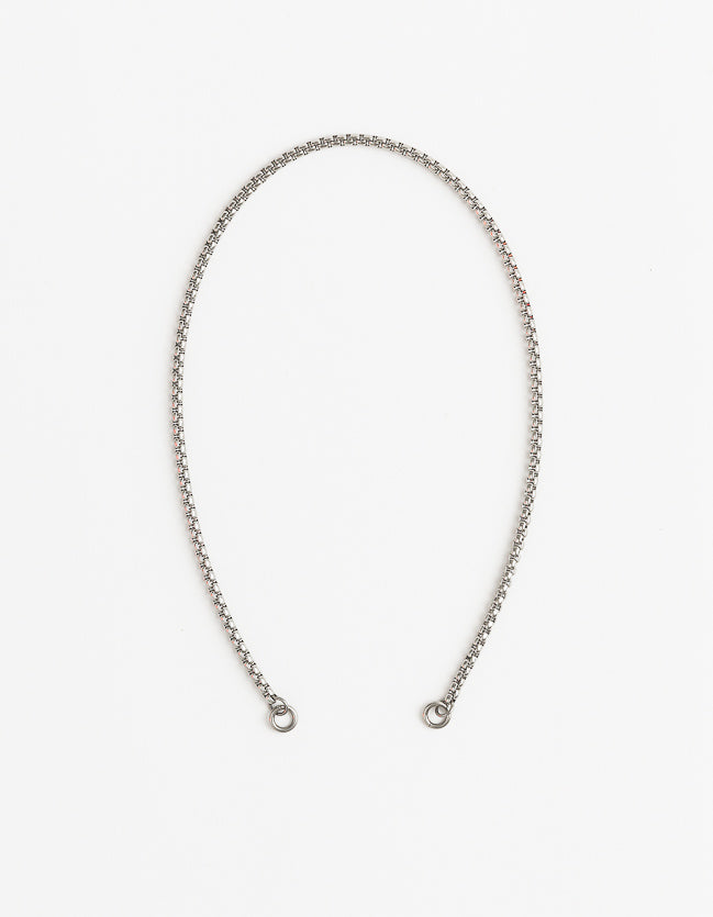 Skinny Silver Snake Long/Short - combo clasp