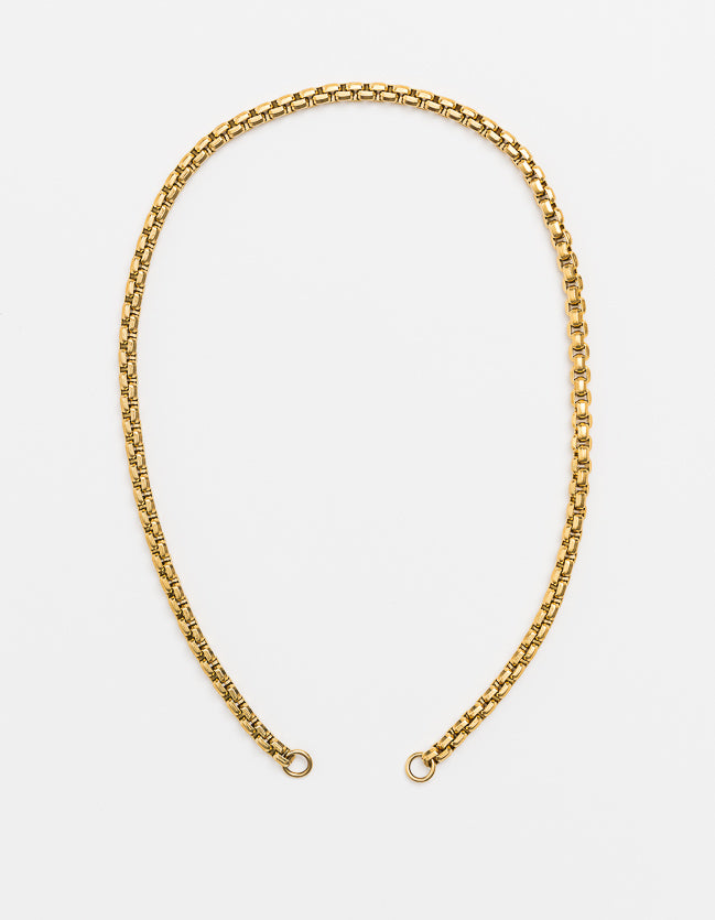 Snake Chain Gold Long/Short