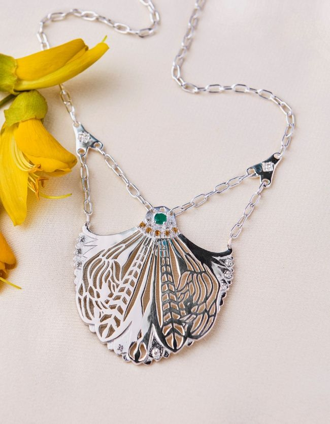 The Amity Necklace Silver