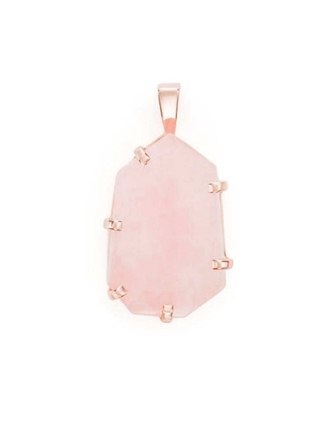 Rose Quartz Rose Gold Amulet