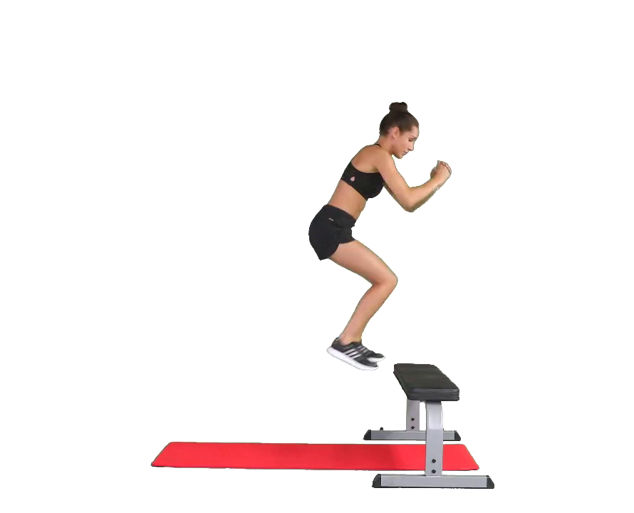 Double-Pulse Bench Jump