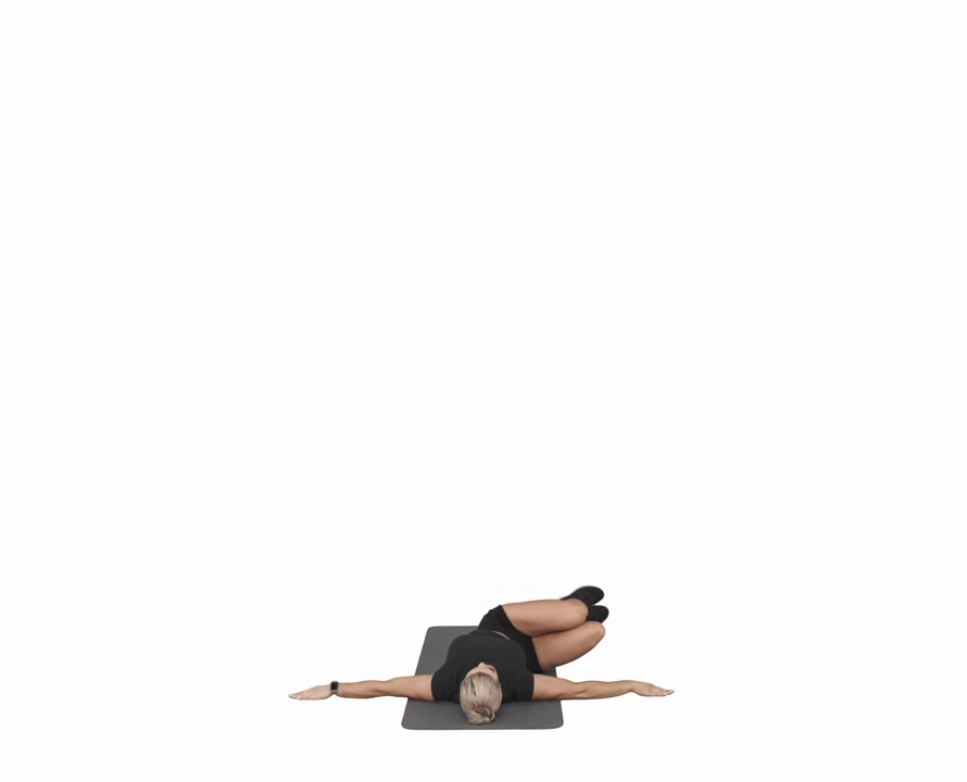 Supine Twist (Lower Back Stretch)