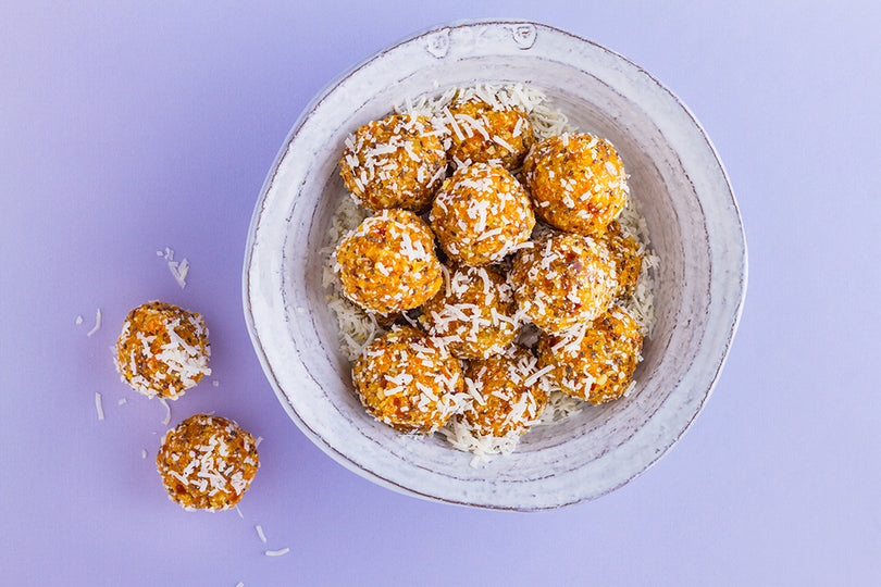 No-Bake Apricot Energy Bites Recipe