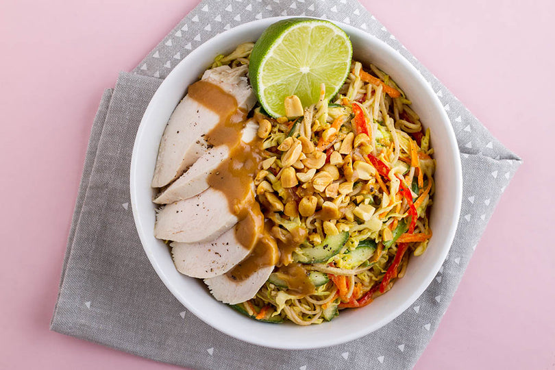 Peanut And Soba Noodle Salad Recipe