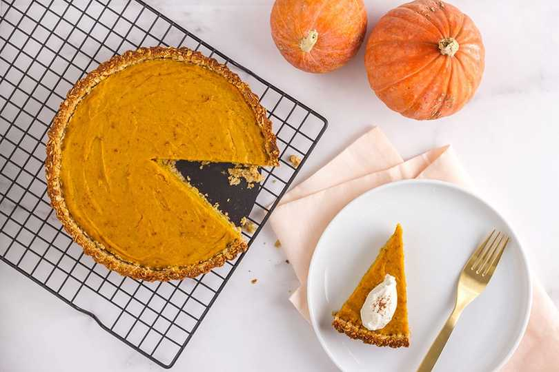 Pumpkin Pie Recipe For The First Day Of Fall
