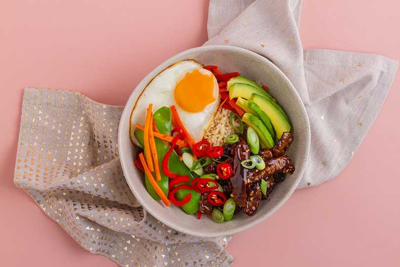 Sticky Beef Bliss Bowl