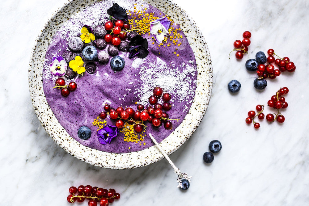 Blueberry Bliss Bowl - The Fit Foodie