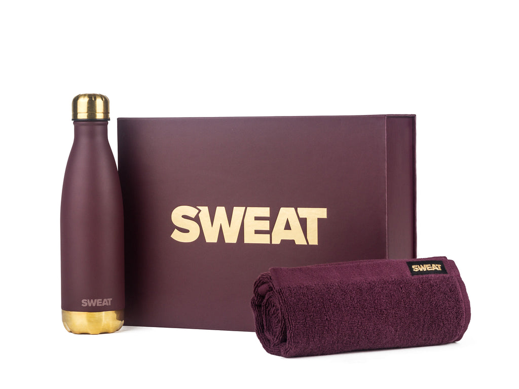 Limited Edition Active Set - Plum & Gold