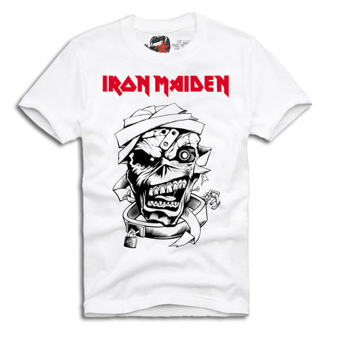 IRON MAIDEN T-SHIRT HEAVY METAL ACDC  ROCK S-XL