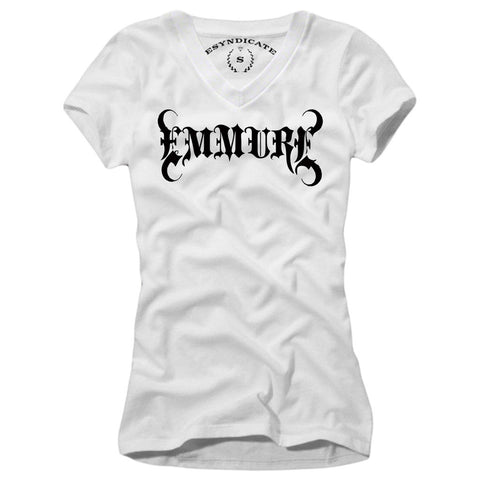 EMMURE WOMAN T-SHIRT HARD CORE DEATH CORE   S-L