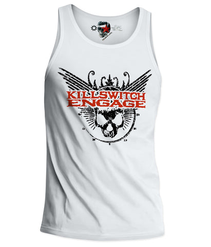 KILLSWITCH ENGAGE TANK TOP SHIRT AVENGED TRIVIUM IN FLAMES METAL  S-XL