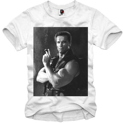 T-SHIRT ARNOLD SCHWARZENEGGER PUMPING IRON GYM BODYBUILDING 23 S-XL