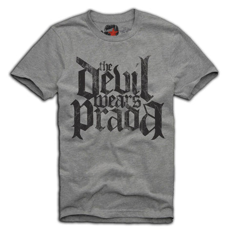 E1SYNDICATE T-SHIRT THE DEVIL WEARS PRADA METALCORE MISS MAY I GREY Sz. S-XL