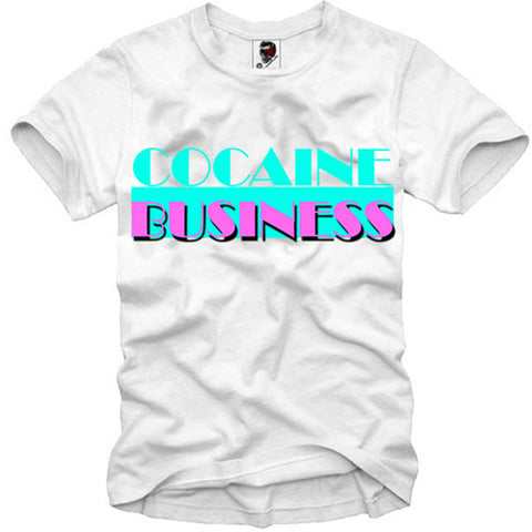 T-SHIRT COCAINE BUSINESS MIAMI VICE LAST KINGS DOPE SSUR S-XL
