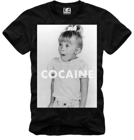 T-SHIRT COCAINE DOPE WEED LONDON BOY ELEVEN LAST KINGS BLACK S-XL