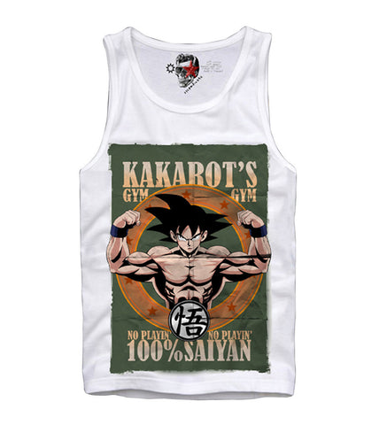 TANK TOP SHIRT SON GOKU DRAGONBALL Z GOHAN BODYBUILDING S/M/L/XL
