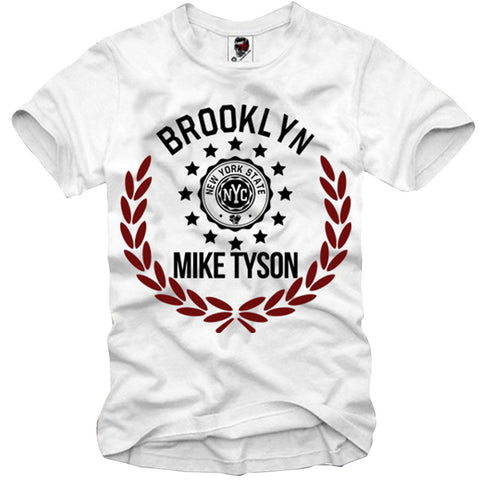 T-SHIRT IRON MIKE TYSON KID DYNAMITE HOLYFIELD DOPE TIGER GYM S/M/L/XL