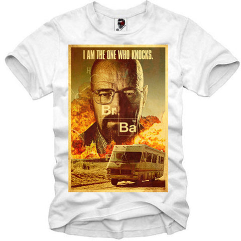 T-SHIRT BREAKING BAD HEISENBERG WALTER WHITE ICE METH LAB S-XL