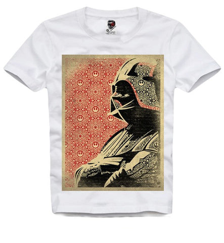 T-SHIRT DJ DARTH VADER YODA WOOKIE BOBA TREK STAR WARS S-XL