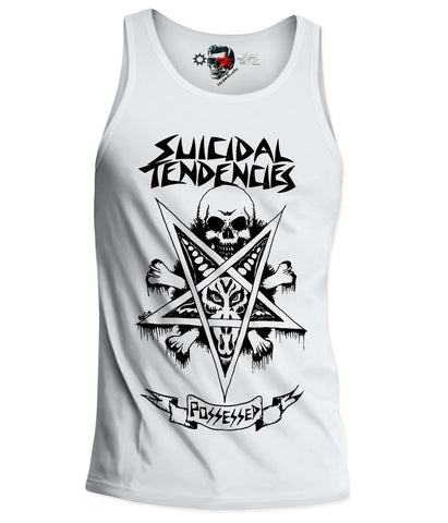 SUICIDAL TENDENCIES - POSSESSED TANK TOP SHIRT  S-XL PUNK HARDCORE ROCK