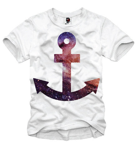 T-SHIRT COSMIC ANCHOR BLOGGER HIPSTER TRIANGLE N60 DJ S-XL