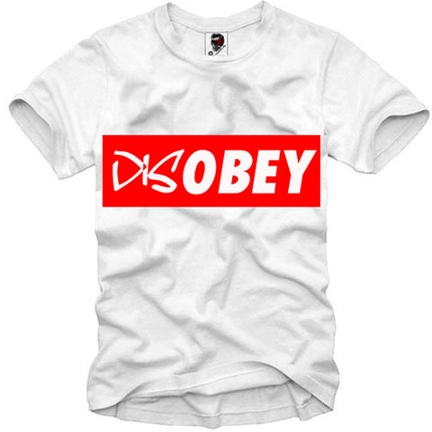 T-SHIRT DISOBEY LAST KINGS SUPREME DOPE BLOGGER HYPE CALI S-XL