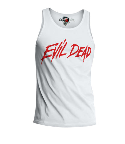 E1SYNDICATE TANK TOP SHIRT EVIL DEAD ZOMBIES SWAG DOPE WASTED YOUTH MOVIE Sz. S-XL