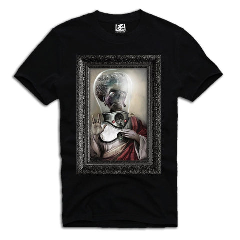 E1SYNDICATE T-SHIRT ALIEN INVASION SWAG DOPE WASTED YOUTH MOVIE BLACK Sz. S-XL