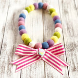 Big Stripey Bow Charms