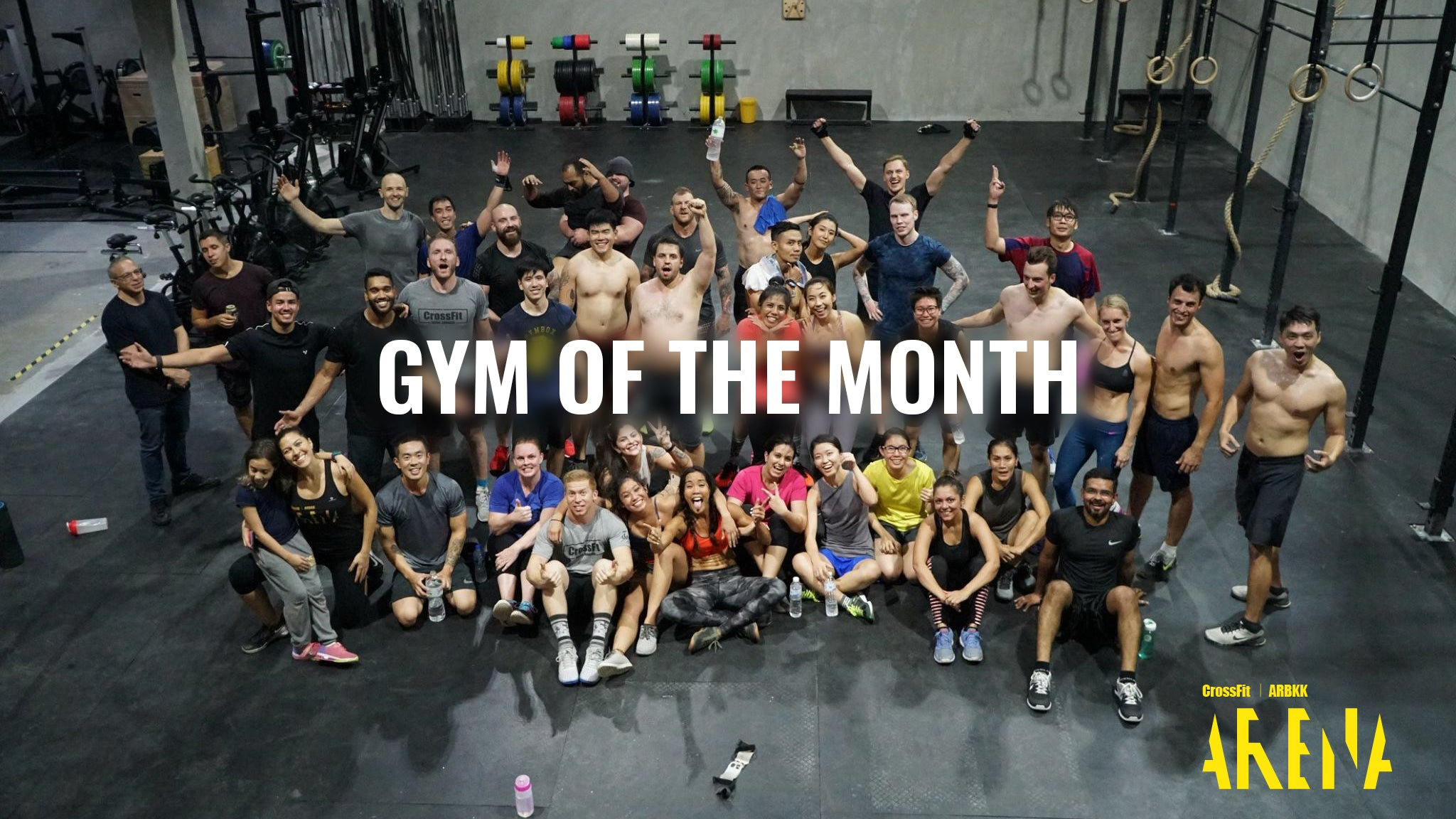 GYM OF THE MONTH: CROSSFIT ARENA