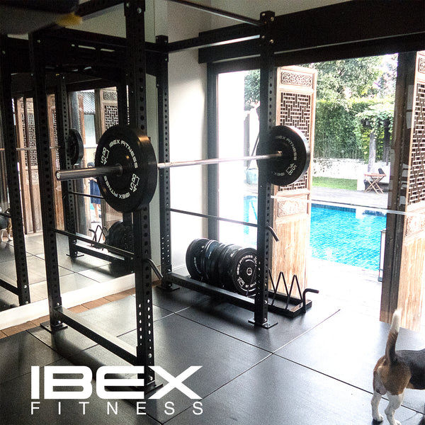 HOME GYM, GARAGE GYM, POWER CAGE, BARBELL,