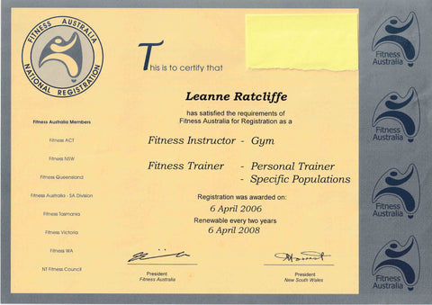 leanne ratcliffe freelee fitness registration