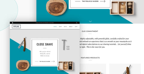 Think of a progressive design - Then its Pipeline Shopify Theme