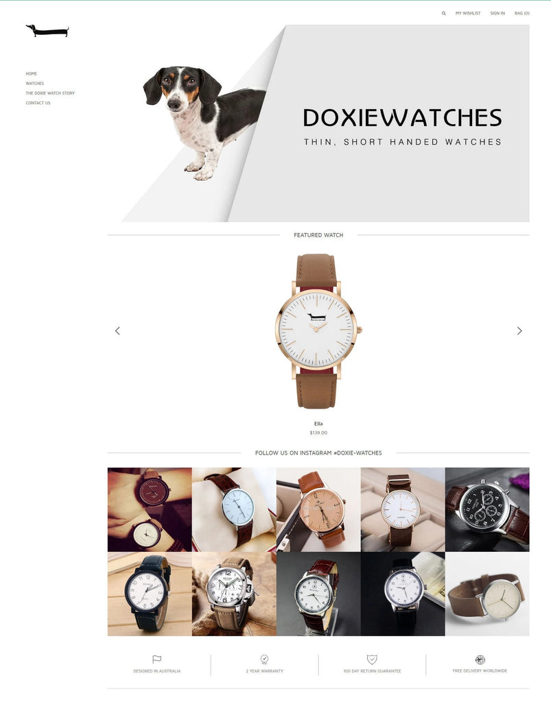 Doxie Watches - Hulkthemes