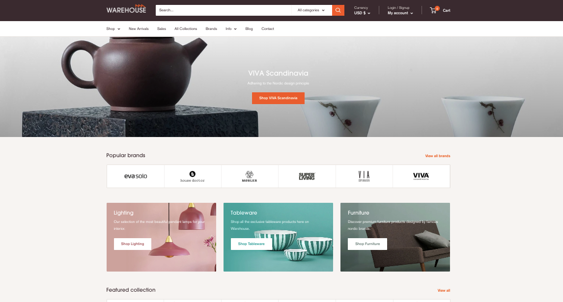 Shopify Theme Warehouse Support Guide