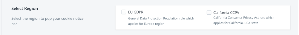 Stay CCPA Compliant With GDPR Cookie Notice Bar Pro