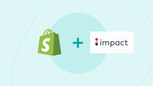 Shopify Impact Radius Affiliate Pixel Tracking Package